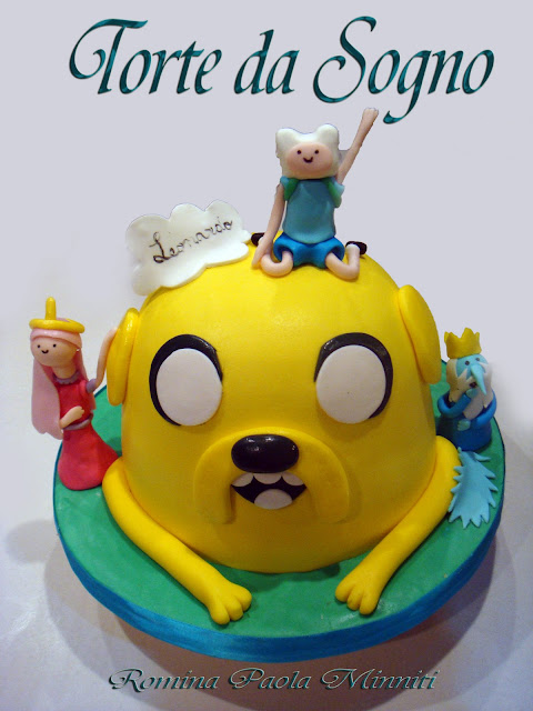 Torte da sogno di romina minniti adventure time cake