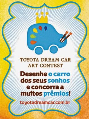 """Promoção: """"TOYOTA DREAM CAR ART CONTEST 2014"""""""