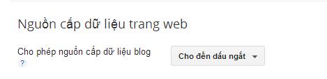 Cách chống lấy toàn bộ data dữ liệu blogspot