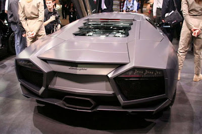CARRO COCHE SUPERDEPORTIVO LAMBORGHINI REVENTON VERSION COUPE