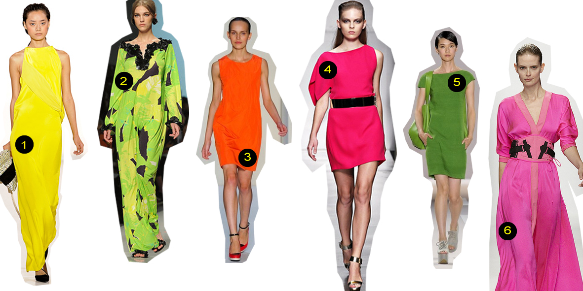 New trend: fluo colours! Spring/Summer 2012
