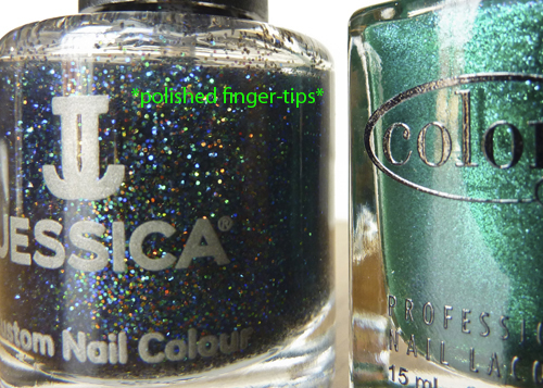 "Jessica ""Platinum Wishes"" and Color Club ""Metamorphosis"""