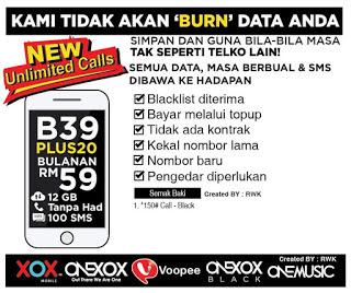 Promosi ONEXOX Black