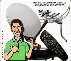 Antenas Parabólicas em Londrina 43-84368791 43-99775373  Instalação ,manutenção ,Consertos