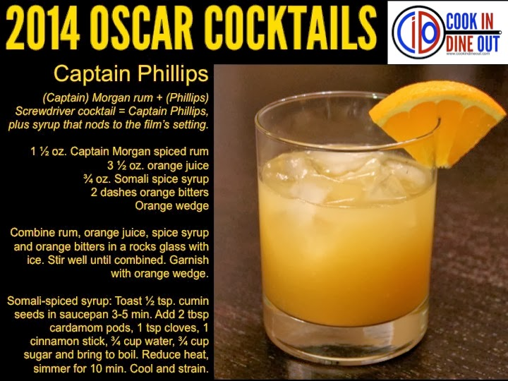 Oscar Cocktails Captain Phillips
