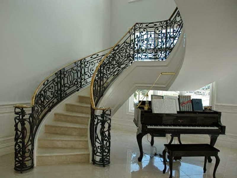 Modern Interior Design Iron Stair2