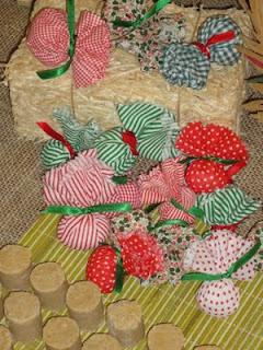 Decoração de festa Junina Trouxinhas de tecido