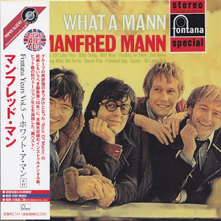 MANFRED MANN - WHAT A MANN (FONTANA 1968) Jap mastering cardboard sleeve + 11 bonus