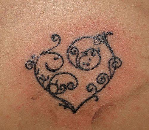Heart Tattoo Designs For Women