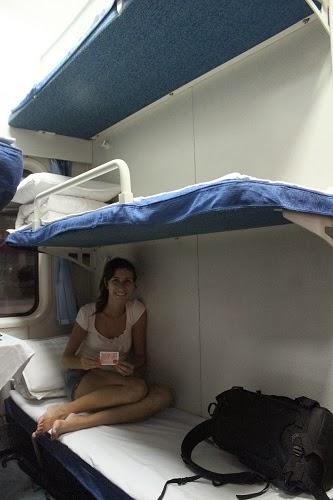 Viaje Chengdu - Xi'an en cama dura, 16 horas.