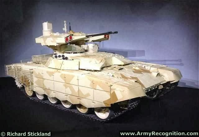 Russian bmpt 72 terminator 2 tank support armoured fighting vehicle