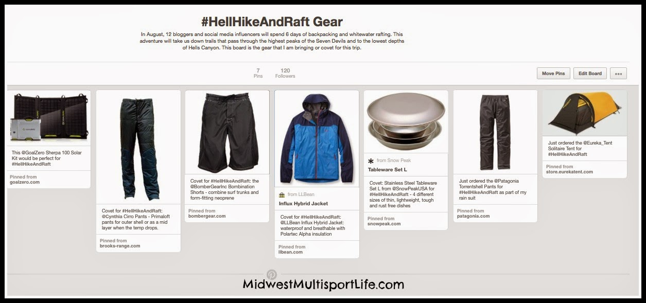 Hell Hike And Raft Gear