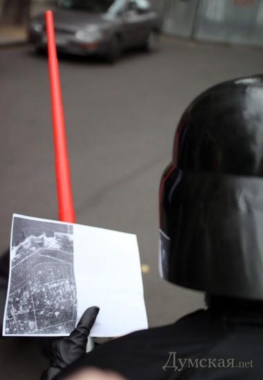 Darth Vader tuntut tanah