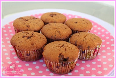 Cupcake com recheio de Creme Crocante Ovomaltine