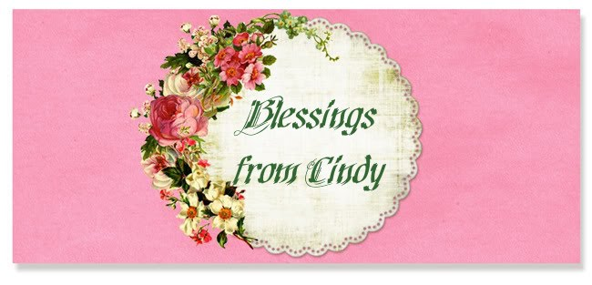 Blessings from Cindy