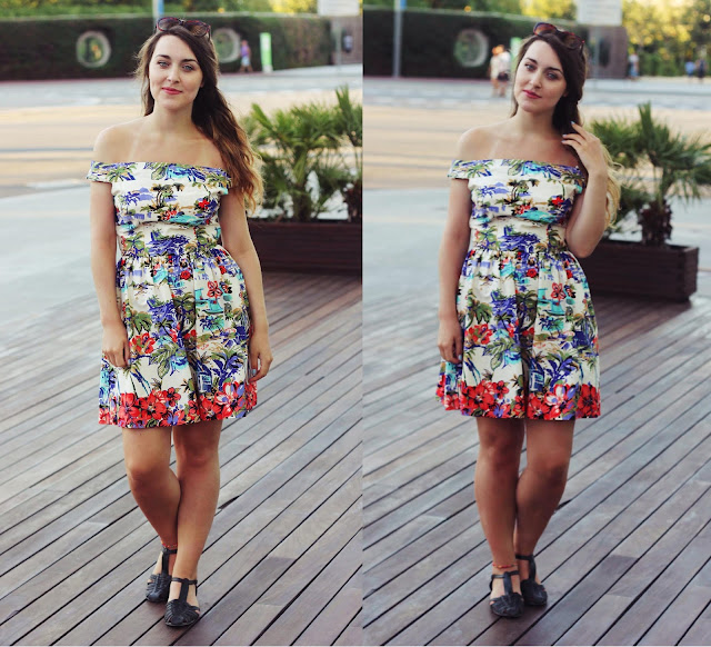 fashion bloggers barcelona outfit
