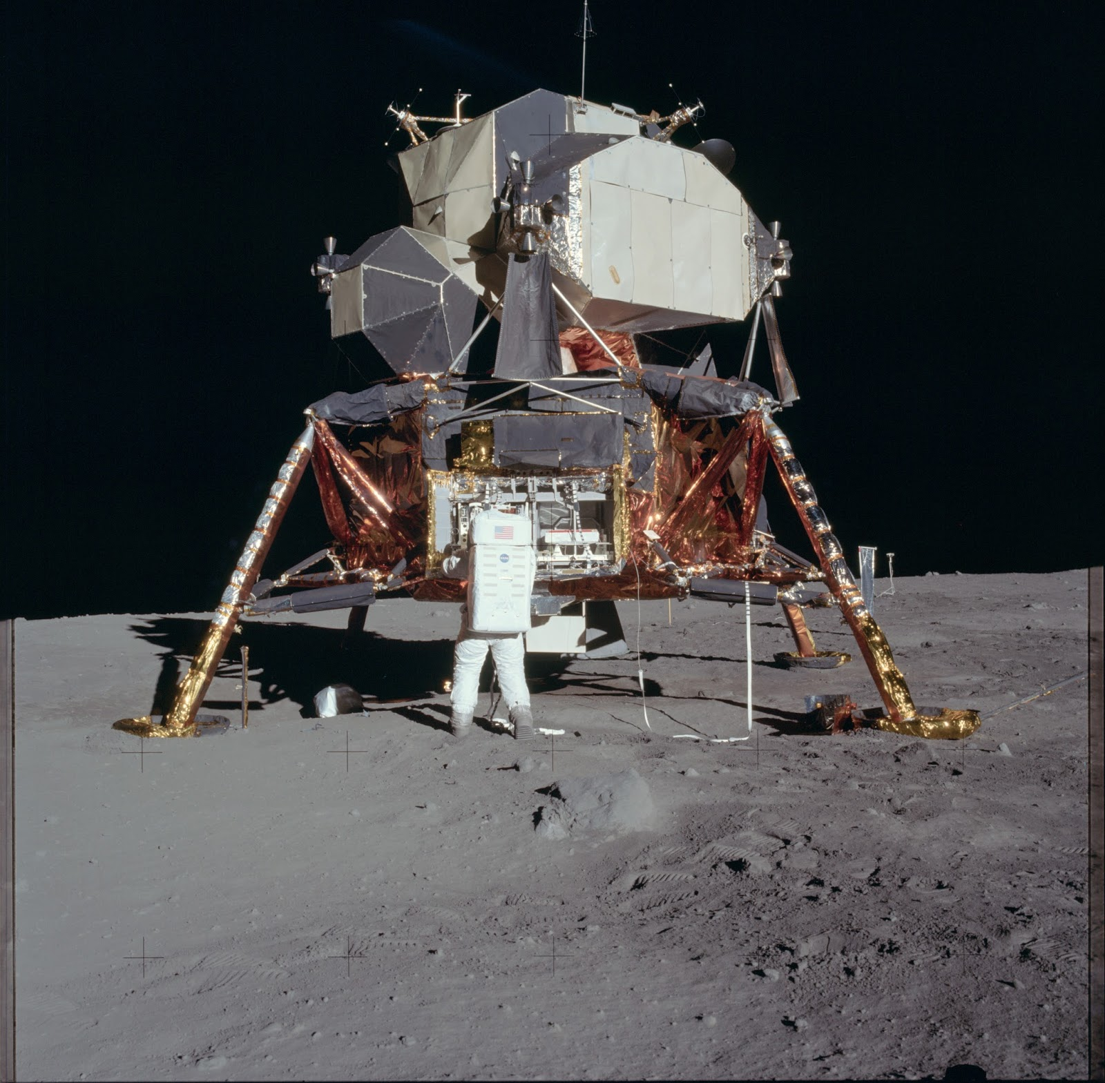 Apollo 11 shot on the