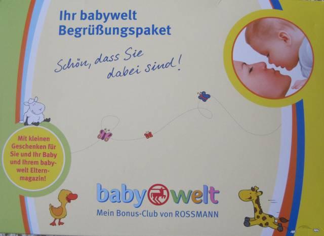 rossmann babyclub geschenk