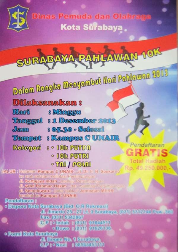 Surabaya Pahlawan 10K 2013