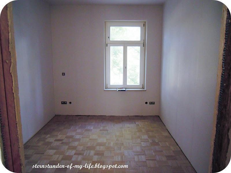 Schlafzimmer Vorher Nachher : Wir haben uns dann vor dem Streichen für einen dicken grünen Balken