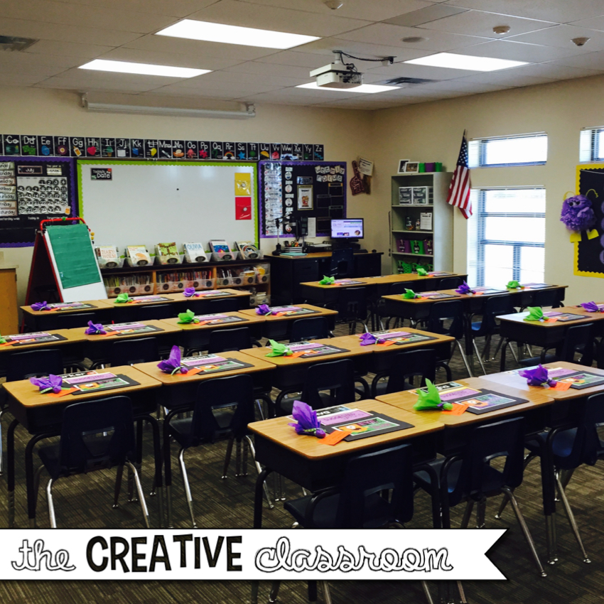 Creative Classroom Idea ~ Monster theme classroom reveal the creative