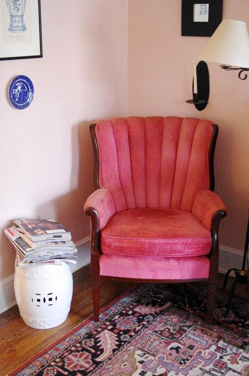 Love This Armchair Found In A Small Apartment In Raleigh