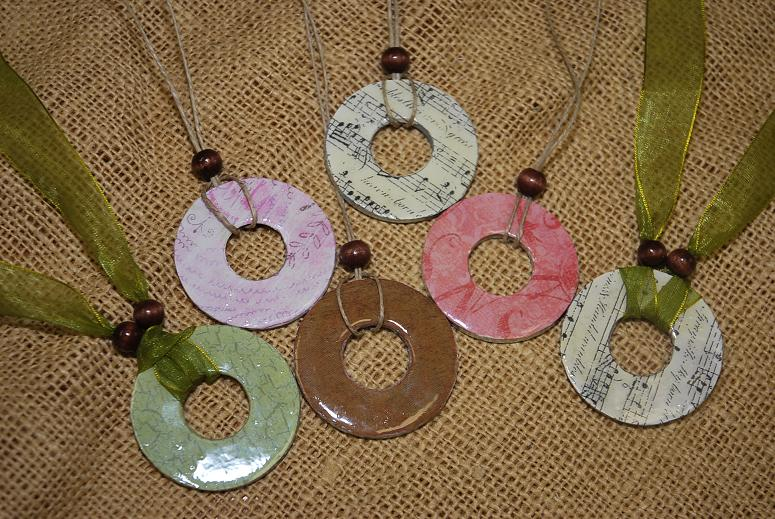 Washer flowers do small things with love tutorial for washer necklaces here aloadofball Choice Image