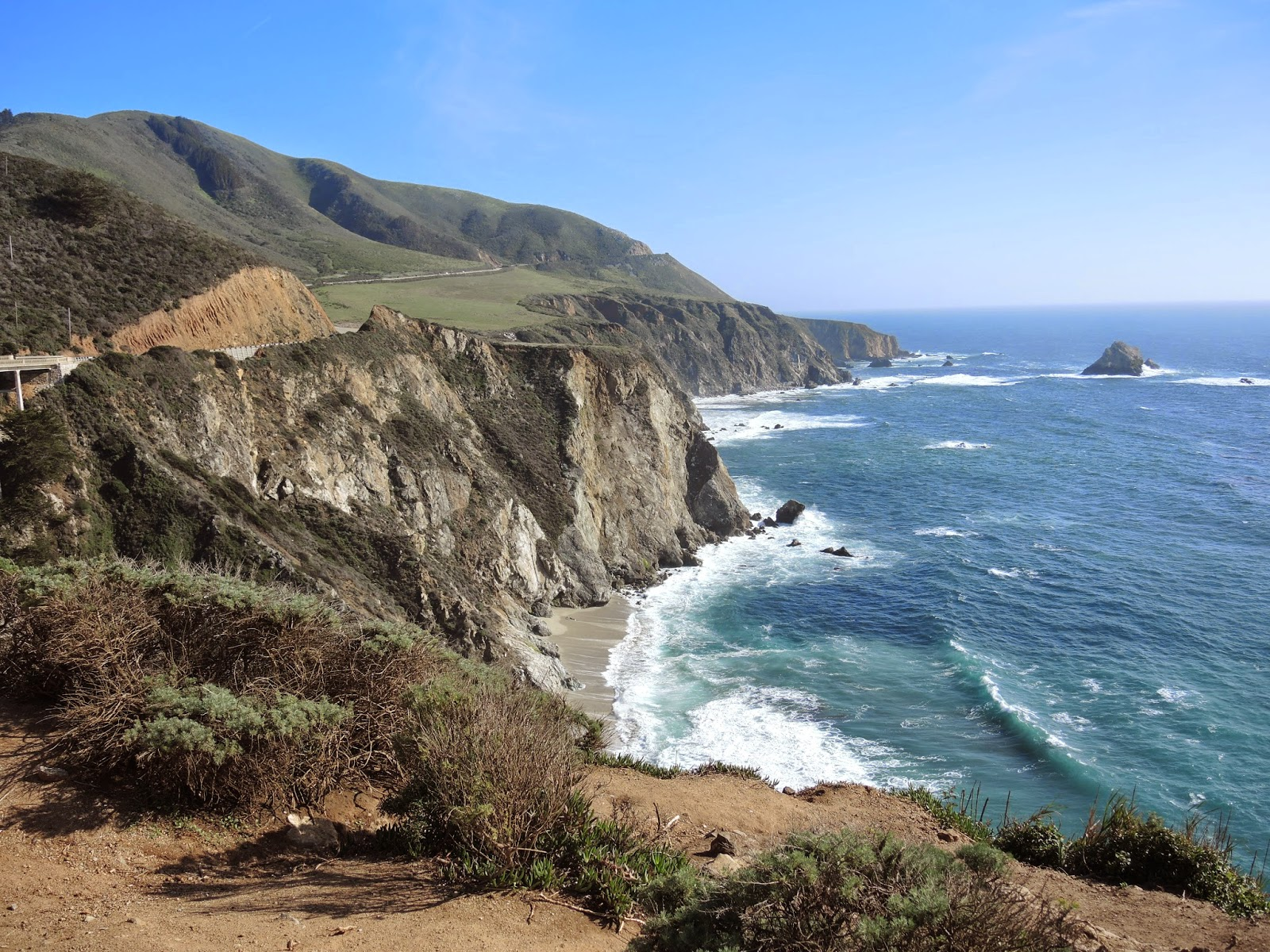 2014 Spring break 美國西岸自駕行程: Big Sur 大索爾
