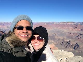 vista do grand canyon borda sul