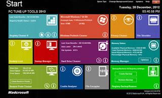 download Madcrosoft PC TuneUp Tools 2013 v8.0.046 Build 24.5.13