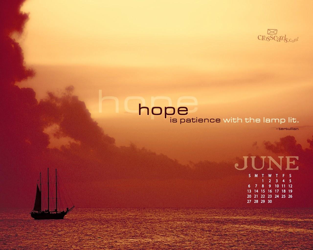 June 2014 Calendar Desktop Wallpapers