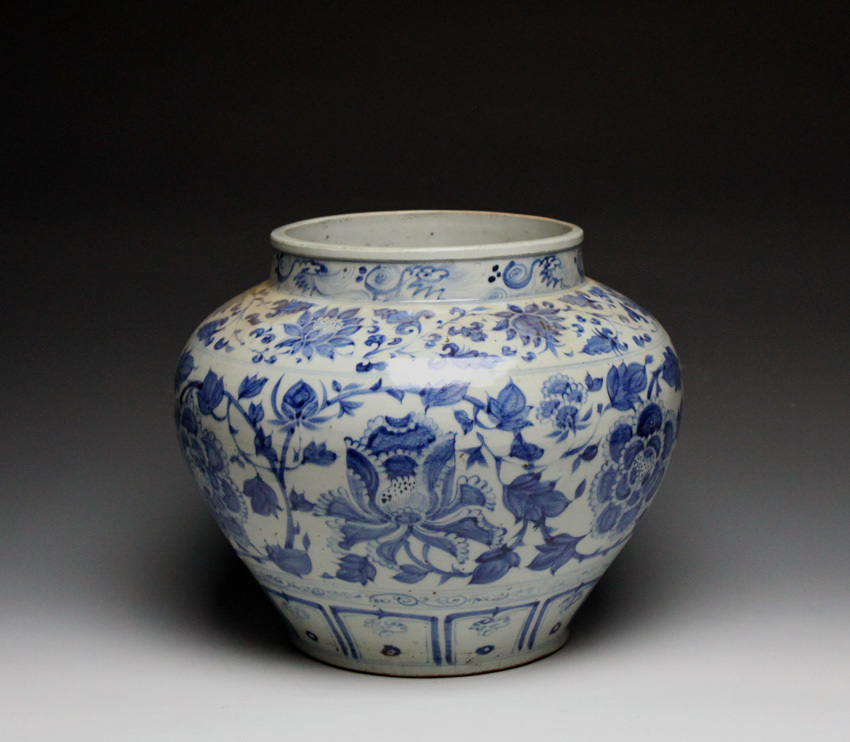 Collecting Ming Period Blue And White Porcelain And Bronzes