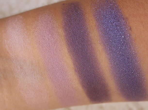 wet n wild petal pusher palette swatches
