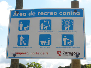 área de recreo canino Zaragoza