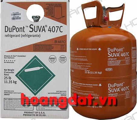 Ga lạnh DuPont™ Suva® 407C