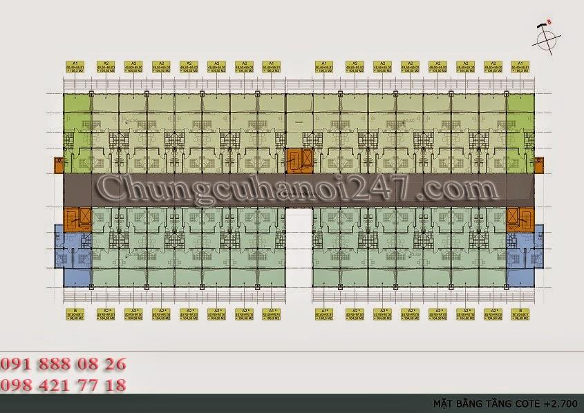 mặt bằng thiết kế tầng lửng chung cư thanh hà cienco 5 hà đông
