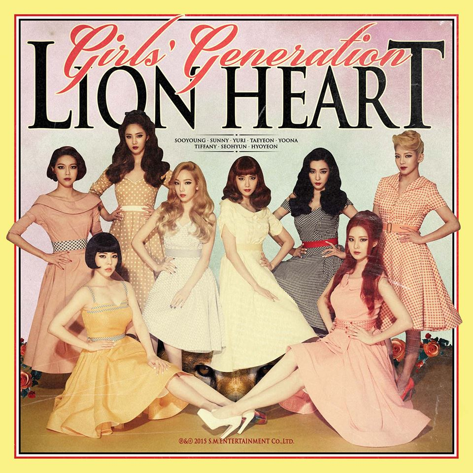 Girls' Generation (SNSD) 소녀시대 - Lion Heart [image by Facebook Girls' Generation]