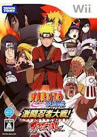 Naruto Shippuden: Gekitou Ninja Taisen! Special (JAP) Wii
