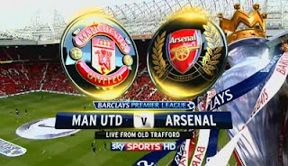 Live Streaming Manchester United vs Arsenal 3 November 2012