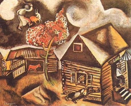 PINTORES Y PINTURAS - JUAN CARLOS BOVERI: MARC CHAGALL Chagall Crucifixion