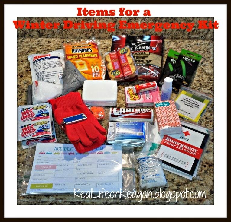 Winter Driving Emergency Kit
