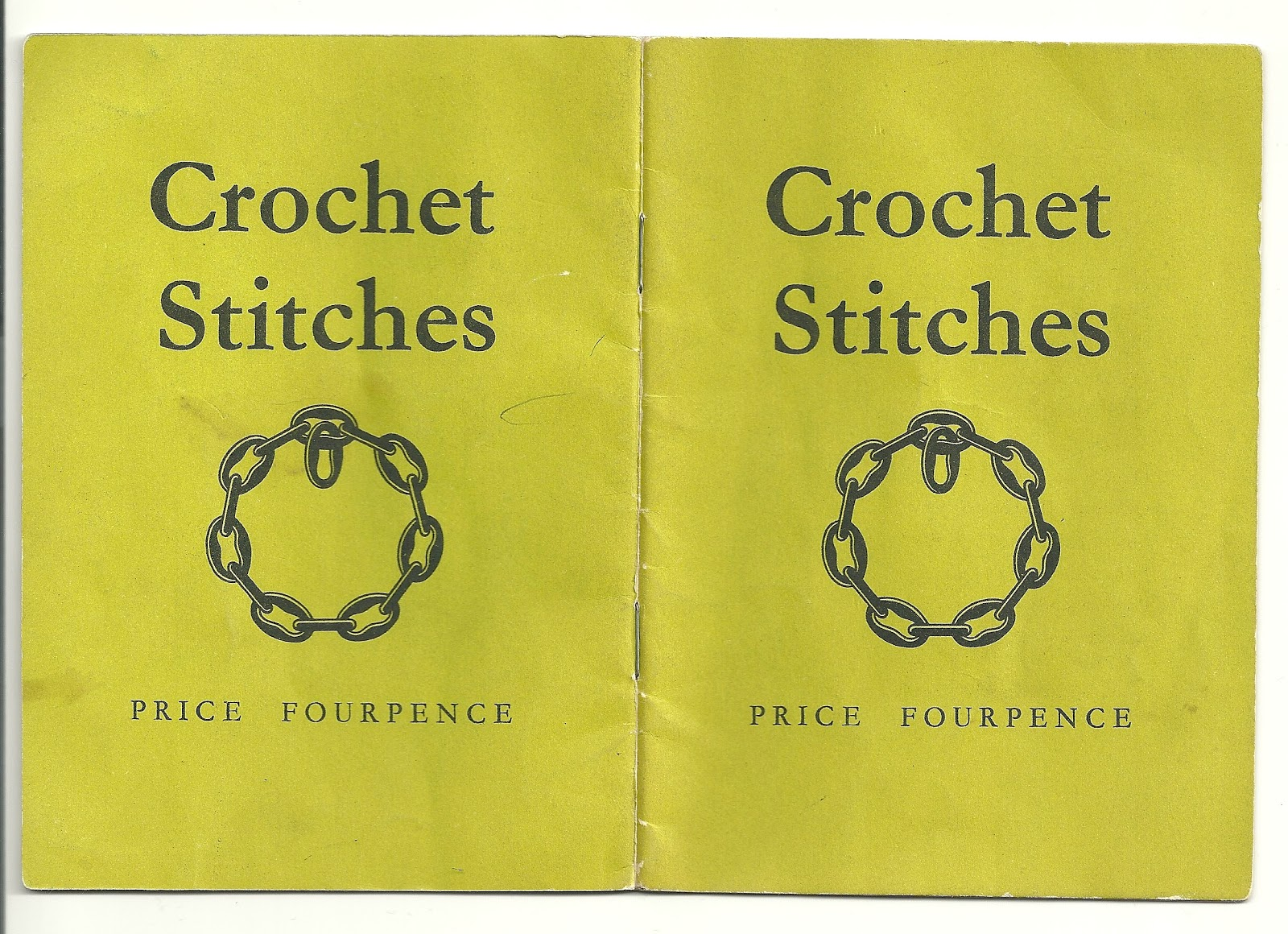 Abigail Dace London: Old Coats Crochet Stitches Booklet