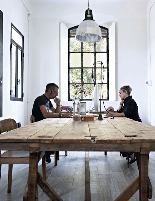 my scandinavian home beautiful italian designer 39 s studio. Black Bedroom Furniture Sets. Home Design Ideas