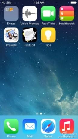 Alcune presunte nuove applicazioni sulla versione iOS 8.0 di Apple