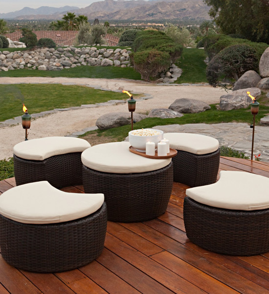 Luxury outdoor garden furniture modern furniture ideas for Luxury garden furniture