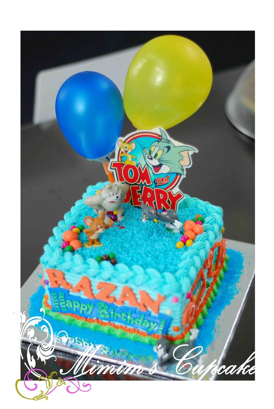 Mimims Cupcake Razans Tom Jerry Cake