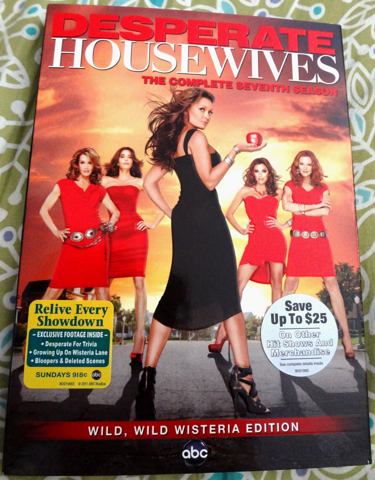desperate housewives the complete seventh season dvd. Black Bedroom Furniture Sets. Home Design Ideas