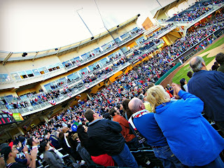 Over 10,000 people at Isotopes Park in Albuquerque 2012 home season opener