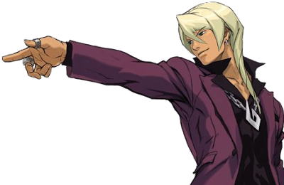 klavier gavin hot ace attorney apollo justice