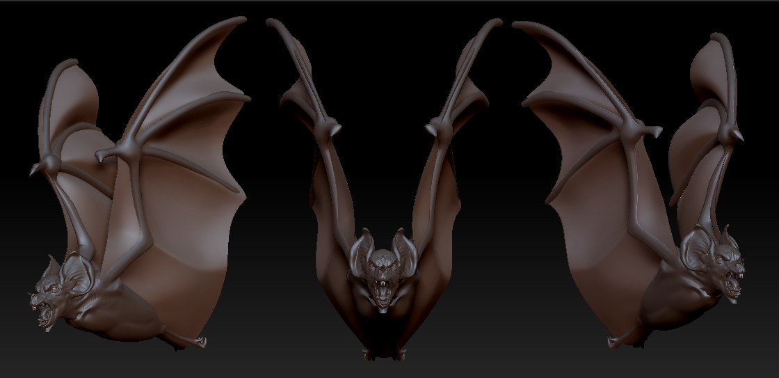 Arik Newman Blog: Bat Head